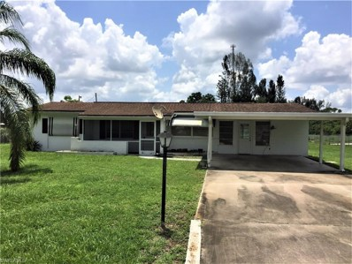 802 Taylor LN, Lehigh Acres, FL 33936 - MLS#: 218043252