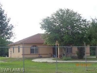 825 Quebrada ST, Clewiston, FL 33440 - MLS#: 218043342