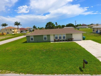 1510 19th TER, Cape Coral, FL 33909 - MLS#: 218044049