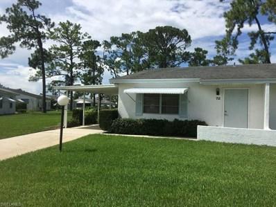 72 Heath Aster LN, Lehigh Acres, FL 33936 - MLS#: 218046164