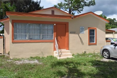 2337 Canal ST, Fort Myers, FL 33901 - MLS#: 218046807