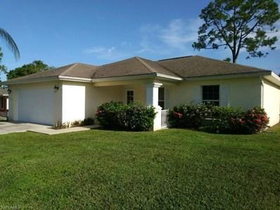 3912 4th W ST, Lehigh Acres, FL 33971 - MLS#: 218049356