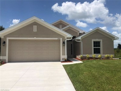 2708 43rd W ST, Lehigh Acres, FL 33971 - MLS#: 218050316