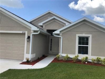 2508 58th W ST, Lehigh Acres, FL 33971 - #: 218050322