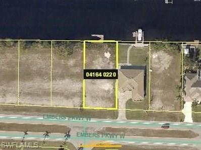 3317 Embers W PKY, Cape Coral, FL 33993 - MLS#: 218051863