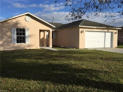 595 Bell S BLVD, Lehigh Acres, FL 33974 - MLS#: 218051963