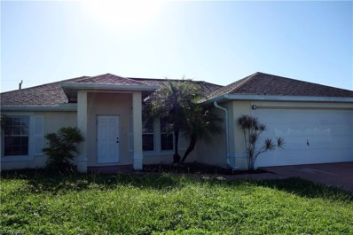 2207 16th PL, Cape Coral, FL 33909 - MLS#: 218056428