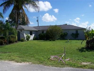 613 Juanita CT, Cape Coral, FL 33909 - MLS#: 218058329