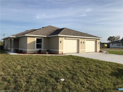 537 8th ST, Cape Coral, FL 33990 - MLS#: 218058751