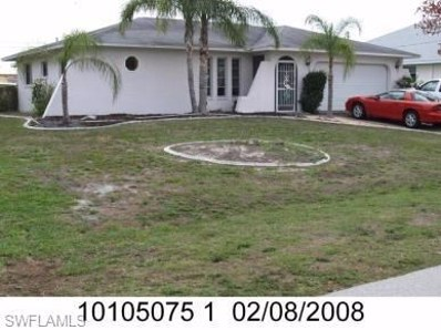 1110 42nd ST, Cape Coral, FL 33914 - MLS#: 218059456