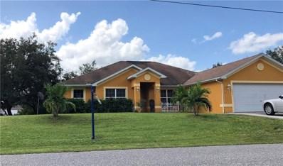 3421 25th W ST, Lehigh Acres, FL 33971 - MLS#: 218064894