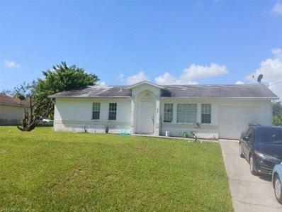 134 Aurora S AVE, Lehigh Acres, FL 33974 - MLS#: 218065591