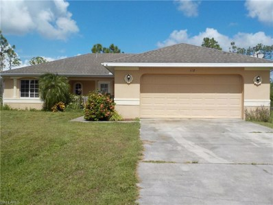 112 Greenbriar BLVD, Lehigh Acres, FL 33972 - MLS#: 218065984