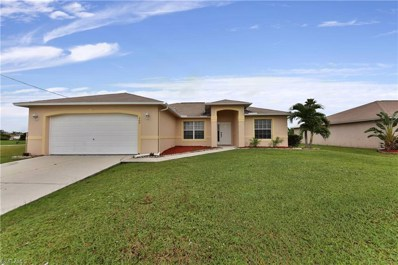 307 16th TER, Cape Coral, FL 33909 - MLS#: 218067468