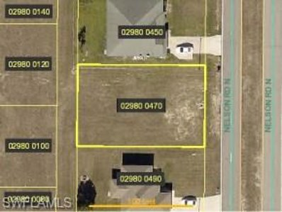 2224 Nelson N RD, Cape Coral, FL 33993 - MLS#: 218067742