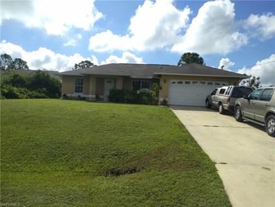 656 Chattman E ST, Lehigh Acres, FL 33974 - MLS#: 218073133