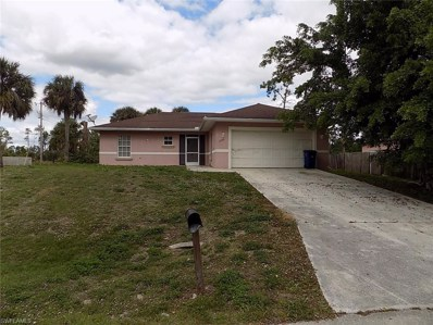 1245 Amherst E ST, Lehigh Acres, FL 33974 - MLS#: 218075712