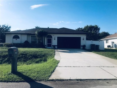418 19th TER, Cape Coral, FL 33991 - MLS#: 218076318
