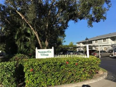 8160 Summerlin Village CIR, Fort Myers, FL 33919 - MLS#: 218076357