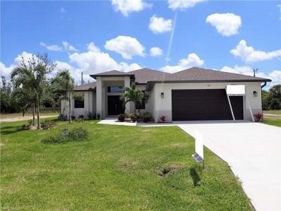 316 16th ST, Cape Coral, FL 33990 - MLS#: 218077553