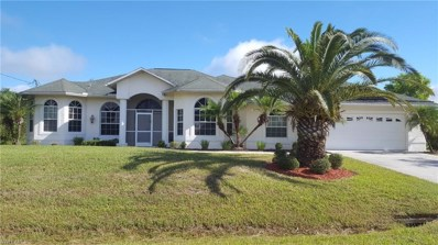 671 Mirror Lakes CT, Lehigh Acres, FL 33974 - MLS#: 218078049