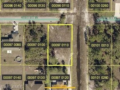 2601 41st W ST, Lehigh Acres, FL 33971 - MLS#: 218078305