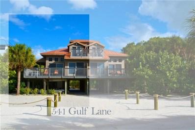 541 Gulf LN, Upper Captiva, FL 33924 - MLS#: 218080301