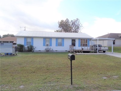 2907 38th Sw ST, Lehigh Acres, FL 33976 - MLS#: 218080997