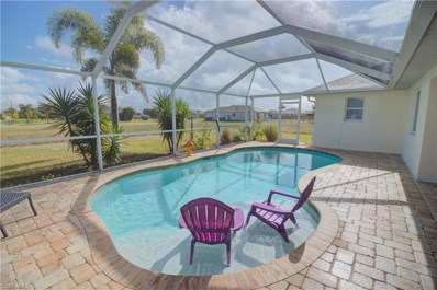 821 20th AVE, Cape Coral, FL 33993 - MLS#: 218081011