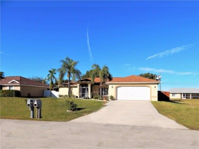 321 10th TER, Cape Coral, FL 33909 - MLS#: 218081440