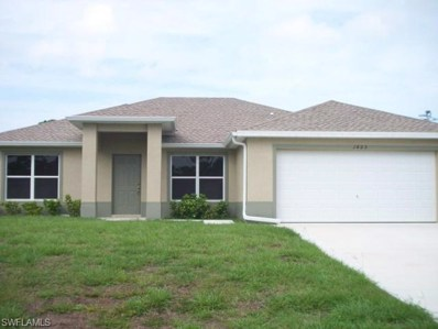 1823 Ridgemoor ST, Lehigh Acres, FL 33972 - MLS#: 218082124