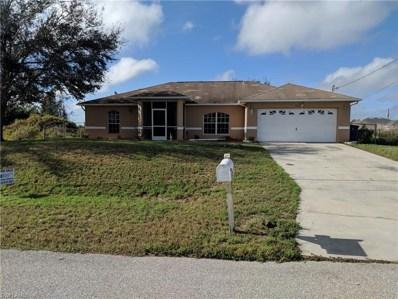 1029 Cedartree AVE, Lehigh Acres, FL 33971 - MLS#: 218085069
