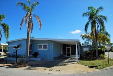 569 Hogan DR, North Fort Myers, FL 33903 - MLS#: 219000483