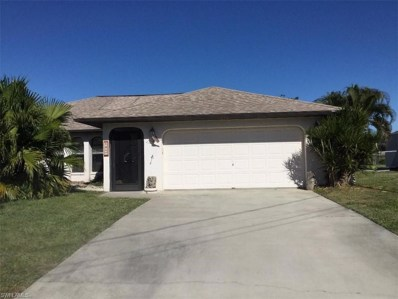 1417 13th TER, Cape Coral, FL 33990 - #: 219002333