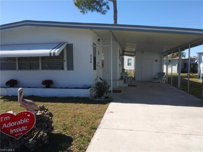 808 Hollyberry CT, North Fort Myers, FL 33917 - #: 219002579