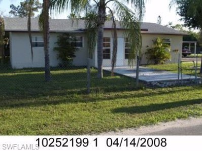 3249 Canal ST, Fort Myers, FL 33916 - #: 219010805