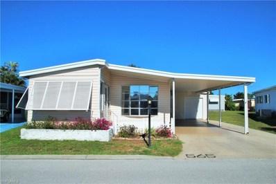 565 Hogan DR, North Fort Myers, FL 33903 - MLS#: 219018355