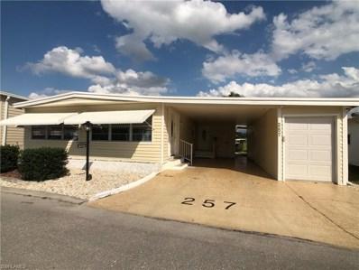 257 Palmer BLVD, North Fort Myers, FL 33903 - MLS#: 219022062