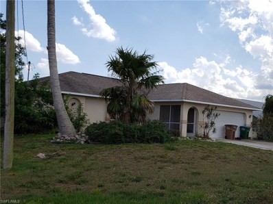 834 11th TER, Cape Coral, FL 33909 - MLS#: 219036157
