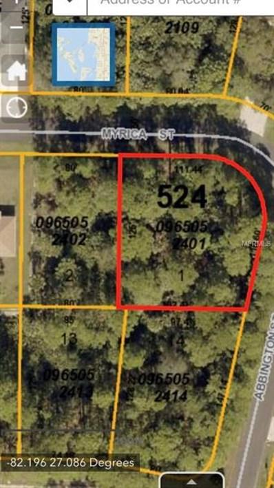 Myrica Street, North Port, FL 34286 - MLS#: A4207324