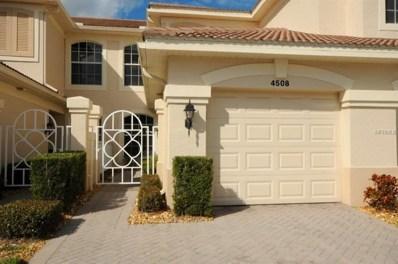 4508 Cinnamon Drive UNIT 2306, Sarasota, FL 34238 - MLS#: A4207352