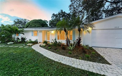 1568 Eastbrook Drive, Sarasota, FL 34231 - MLS#: A4208596