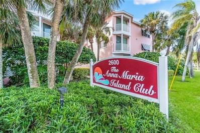 2600 Gulf Drive N UNIT 41, Bradenton Beach, FL 34217 - MLS#: A4209319