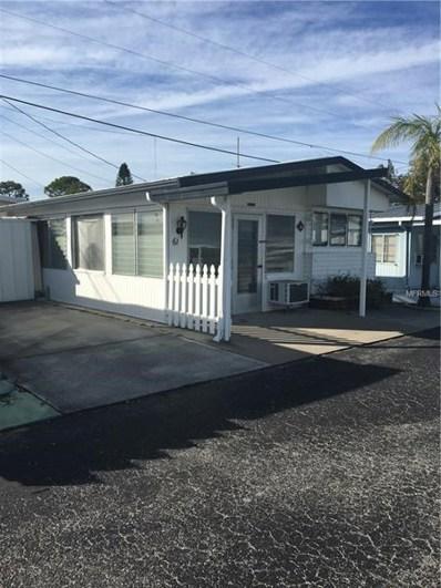10315 Cortez Road W UNIT 61-2, Bradenton, FL 34210 - MLS#: A4212646