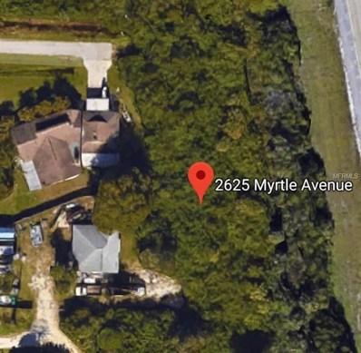 2625 Myrtle Avenue, Punta Gorda, FL 33950 - MLS#: A4215650