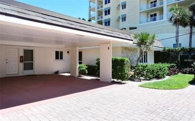1900 Benjamin Franklin Drive UNIT VILLA5, Sarasota, FL 34236 - MLS#: A4215747