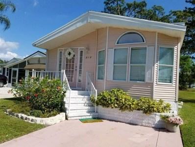 218 Crown Point Drive, Nokomis, FL 34275 - MLS#: A4400619