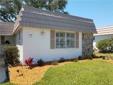 2531 Riverbluff Parkway UNIT V-181, Sarasota, FL 34231 - MLS#: A4400897
