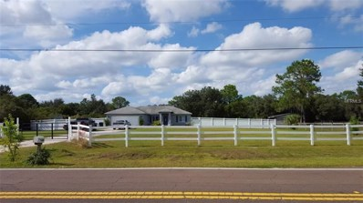 1809 Butch Cassidy Trail, Wimauma, FL 33598 - MLS#: A4415309