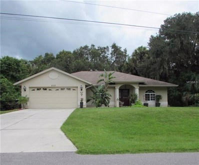 4539 Caribou Avenue, North Port, FL 34287 - MLS#: A4415565